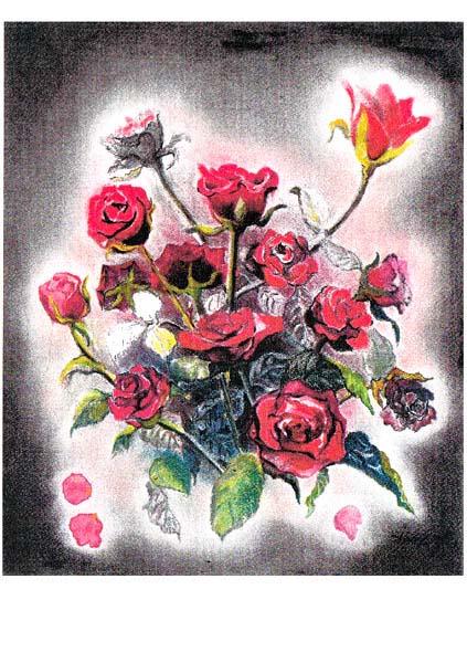 ポストカード・薔薇